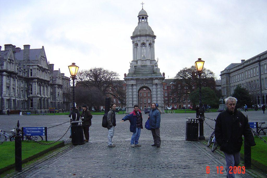 Frank Irlanda Trinity College