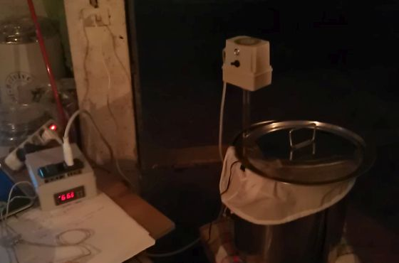 Prima prova impianto elettrico: not so good