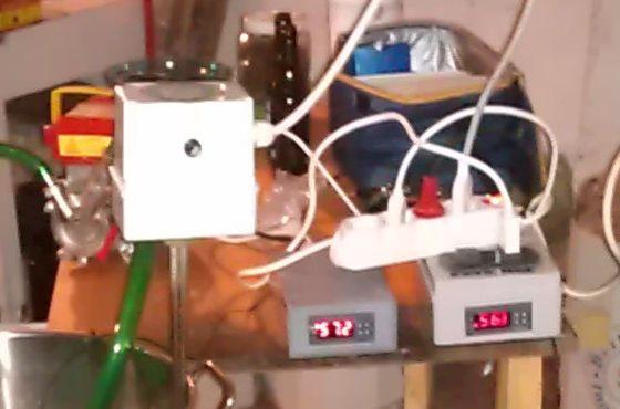 Prove mash con resistenza elettrica