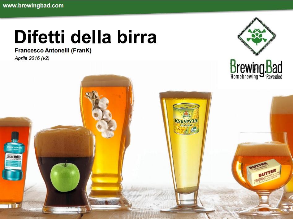 Brewing Bad Difetti della Birra