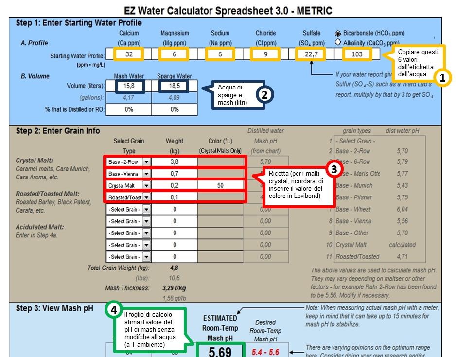 EZ Water Calculator - 1