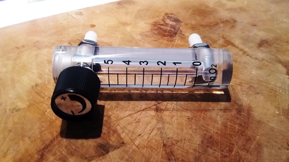 flussimetro O2