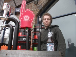 Mark Dredge @ Camden Town Brewery