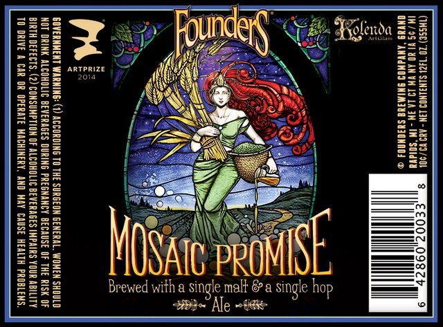 Founders Golden Promise