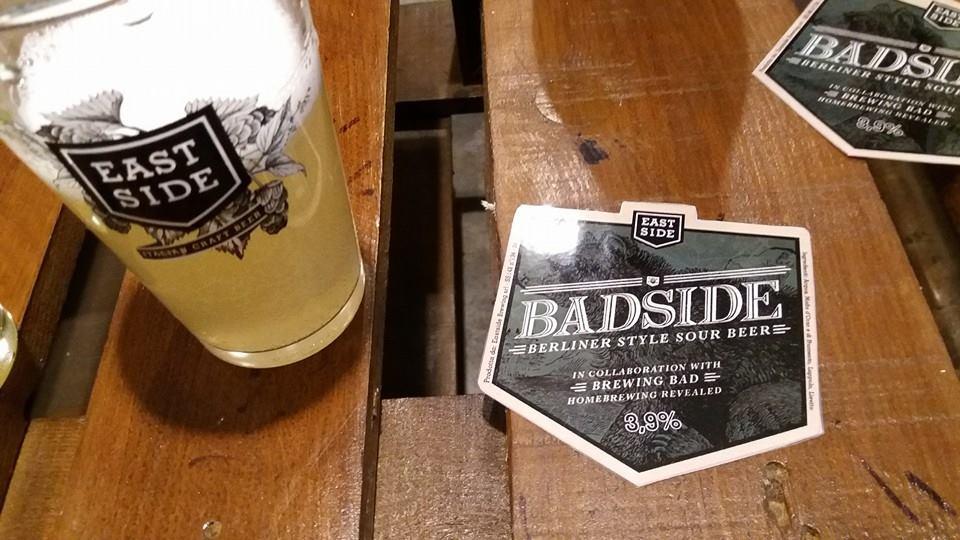 Badside Berliner Weisse Brewing Bad Eastside