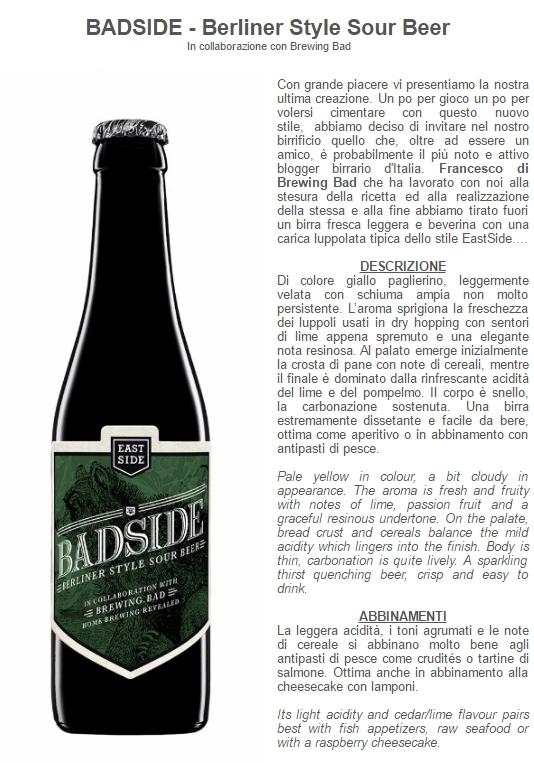 Badside - Brewing Bad Eastside