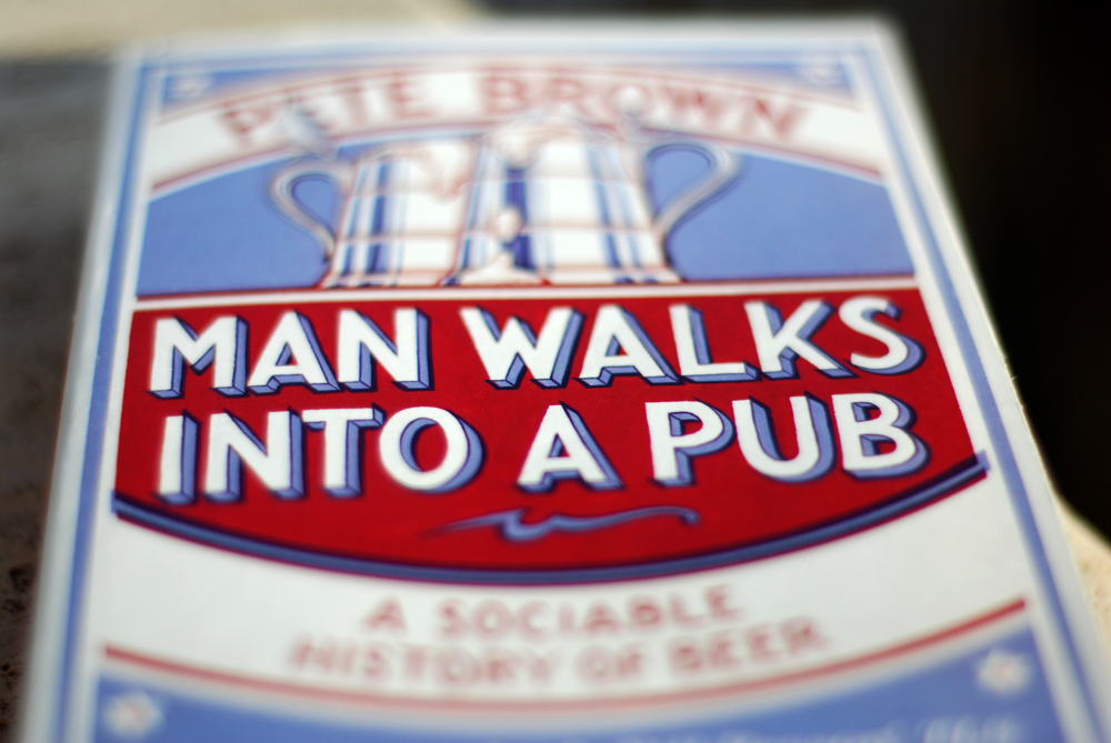 Pete Brown Man walks into a pub