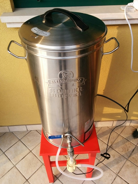 sistema Bulldog Brewer all in one homebrewing